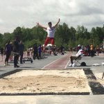 #AStateTF | Roelf Pienaar just jumped a new A-State record of 8.09m in long jump. http://t.co/zYK9cfWH0y
