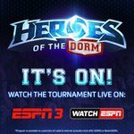 The Heroes of the Dorm Heroic 4 is now live on @ESPN3! #StormtheDorm Watch Now > http://t.co/bNWa1Z7ks2 http://t.co/iNLazrUUAv
