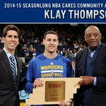 #DubNation, time is running out to help Klay Thompson win the #NBACommunityAssist Award. RT to vote. http://t.co/l8CGxyL0IU