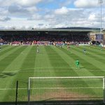 Over 1,600 #BristolCity fans at Chesterfield today. http://t.co/pquxcv2QL1