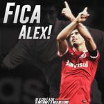 Por toda a história que tem no clube e pelo jogador que ainda é: #FicaAlex. http://t.co/2iaxtelOkW