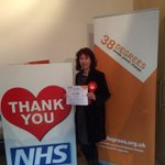 . @Nancy_Platts supports the @38_degrees #SaveOurNHS petition in #Brighton #Kemptown & #Peacehaven http://t.co/l2GGmtPXSE