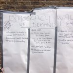 Some messages from #reclaimbrixton http://t.co/Ln9ZlrQRvO