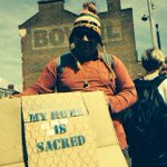 My home is sacred @EResistance #reclaimbrixton http://t.co/v738ttH6z3