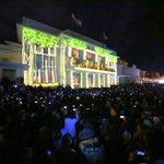 RT @dudisugandi: Video mapping, angklung di Gedung Merdeka. http://t.co/jQ7LNA08NY