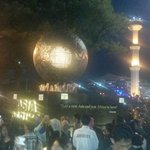 RT @dedyh_alya: Semakin malam alun alun bandung tambah padat pengunjung http://t.co/g1GFoZMEHu