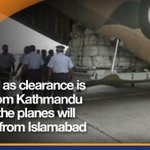 Four aircraft with Nepal relief supplies ready at Islamabad airport: PM House http://t.co/j1OsyaRE6n http://t.co/YHhuTfAdxC