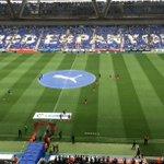 #EspanyolFCB El Barça surt en aquests moments a escalfar al Power8Stadium #FCBlive http://t.co/TSTwrTirgk