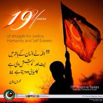 Thank you PTI voters for honouring 19 years of PTI with your vote today; the effort is what counts. http://t.co/uGX3TSumcE