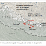 Here is a map showing the epicenter of the earthquake in Nepal http://t.co/H6TrHyeHIN http://t.co/VNmkj0XNmQ