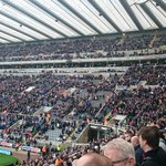 Lot of empty seats at SJP again #nufc http://t.co/BPZweLLJaE
