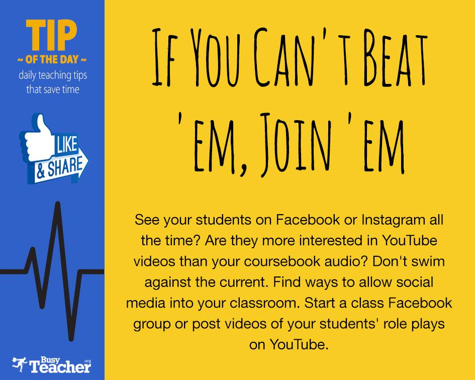 If You Can't Beat 'em, Join 'em! http://t.co/z69ontmoPz