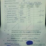 verified polling result with stamps and thumb impression of presiding officer. Hatts off to PTI Tiger polling agents. http://t.co/b7v8BbTJsz