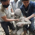 Powerful images of the devastation in Nepal. http://t.co/4Y8rZTQEcb http://t.co/83AYxdRWHO
