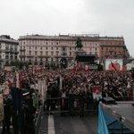 #25aprile #Liberazione70 #Milano #antifascista e per la #resistenza. Da vista palco @cgilnazionale @Anpinazionale http://t.co/bUaVIoXnTu