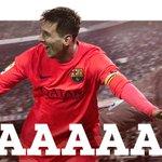 25 Goooooooal Barça!!!!!! Lionel #Messi !!!!!!!!!!! ESP 0 - 2 FCB #FCBLive #EspanyolFCB http://t.co/LtOiXr0L72