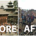 Сегодня в Непале произошло землетрясение магнитудой 7,8. В результате разрушена историческая часть столицы страны. http://t.co/uAFte1ySVi