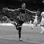 MATCH PIC: @AyozePG celebrates putting #NUFC into the lead against @SwansOfficial at St. James Park. http://t.co/ZhtKWwXeR5