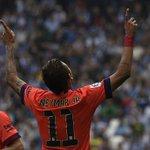 Va por ti, Tito Vilanova. Gran primera parte del Barça. http://t.co/jojFWain9e