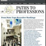 Whats the power of a @penn_state degree? @WSJ ranks PSU as THE top university for job recruiters. #NetworksMatter http://t.co/WDBrHnbcbe