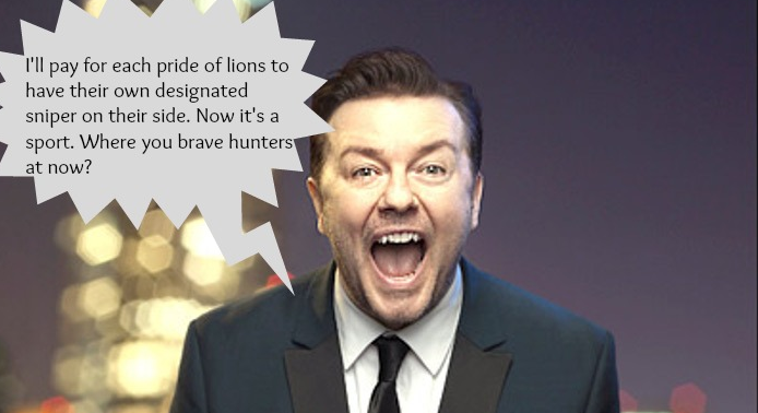 10 Outrageously Awesome Quotes From @RickyGervais That Prove He Is a Bonafide Animal Lover! http://t.co/TqH6Slpk6n http://t.co/g3roA37olC