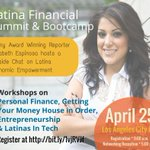 @dinero_futuro @LACSW Latina Financial Summit & Bootcamp #LosAngeles #CityHall today!! http://t.co/7fzPDKBhYj