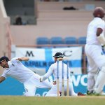 Stunning reflexes from Alastair Cook to remove Shivnarine Chanderpaul http://t.co/xWtsZni2H7 #wiveng