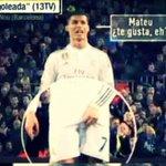 Sembla que Jordi Alba li ha dit siempre igual a Mateu i lha expulsat. Molt més greu que el que va dir i fer CR7. http://t.co/mR1UgL2yBS