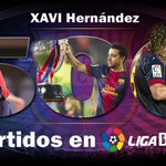 Xavi cumple su encuentro 500 en Liga BBVA con el @FCBarcelona_es http://t.co/iJTwps2UmJ #SienteLaLiga #Xavi500 http://t.co/7PjNZzuXA6