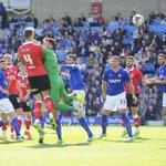 PIC: Aden Flint heads in #BristolCitys second goal. (@jmpuk_sport) http://t.co/On1oYPGooV