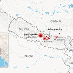 At least 15 aftershocks magnitude 4.5+ have been felt after #NepalQuake. http://t.co/w3DV9S1oqD http://t.co/5xh0NG0cHD