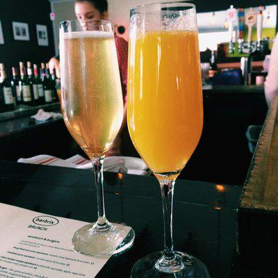 Can we have a round of #mimosas w/a side of #brunch? $5 bottomless at @barbrix. #ROTD http://t.co/Xmbig9Eho3 http://t.co/UokBq01FJs