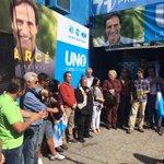 Acto de la Lista UNO en el Municipio C en Millan y Reyes. Con @GarceAlvaro Intendente y @alejabritos71 Alcalde! http://t.co/YX5oBH3ape