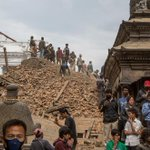 Images of Utter Devastation Emerge From The Nepal Earthquake http://t.co/4hUaxusf4U http://t.co/gsnsuQPTPT