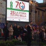 Il #25aprile è la festa di tutti, dellItalia che ha riconquistato la dignità #lastoriapiùbella @70esimo http://t.co/RKT7akqZgr