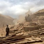 Still cant believe what I witnessed in #NepalQuake today. History crumbling, a nation in despair. http://t.co/sFcOj2vzVi