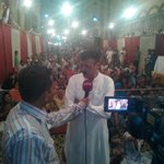 MQM Hyderabad celebrating the shinning winning of Cantonment board election 2015 #PeopleTrustMQM http://t.co/j4ueA0kvUx