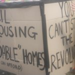 Affordable homes is a major focus of todays #reclaimbrixton protest http://t.co/LrblzFKc2p
