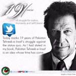 @ImranKhanPTI s message on 19 years of PTI;lets all work in our own capacity to realise the vision of Naya Pakistan http://t.co/YJxfOMBj7C