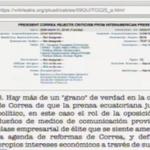 Embajadora de #EEUU señaló que los medios de comunicación en #Ecuador tiene un rol político @MashiRafael #Enlace421 http://t.co/LxQNAWVa7N