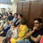 Clifton cantt #Karachi #PTI office enjoying a hard days work — http://t.co/dDlGnxj0vp
