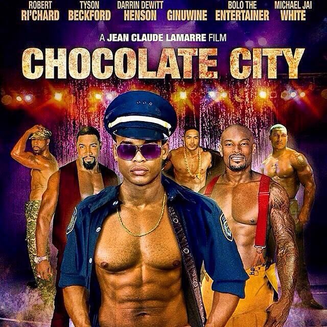 Trailer  #ChocolateCityMovie w/@TysonCBeckford @Ginuwine @MichaelJaiWhite @DeRayDavis @mrdhen..http://t.co/fMrTXpNwgQ http://t.co/FnRDe0sUoM