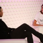 #VogueFestival @ORousteing talks to @alexa_chung about selfies, stars and working in fashion: http://t.co/fYF4AIaWZo http://t.co/C1l56MdFM7