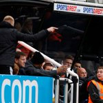 John Carver involved in heated exchanges with #nufc fans. Club & manager have now responded: http://t.co/P3gbPEocie http://t.co/0pAdRugWS1