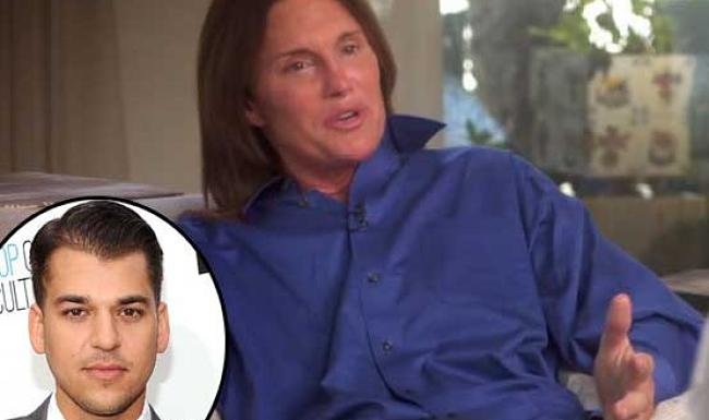 Rob Kardashian's heartwarming message to Bruce Jenner is so touching