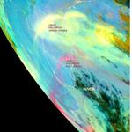 Observe nesta imagem que as cinzas do vulcão Calbuco alcançam a metade sul do Paraná http://t.co/wRDxxON0yc
