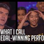 A gold medal performance, no less. Well done, IMD Legion!! #BGT http://t.co/jacvpdlW6v
