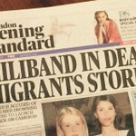 This is a new way of distorting the truth in newspapers. This story should have read CAMERON IN DEAD MIGRANTS STORM http://t.co/jagm6LHZ1f