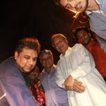 Team along with PTI Karachi leadership celebrating the victory of four wards of Clifton Cantonment Board. http://t.co/M1MBsbOhtm
