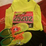 Ready for action tomorrow! #Brighterisbetter #LondonMarathon #25202 @ASICSeurope @RudyProject1985 http://t.co/zyQ9KtFB9F